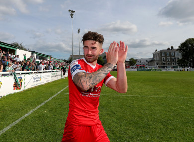 Maguire during his hugely-successful spell at Cork City.
