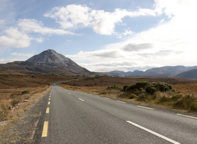 File photo. Derryveagh Mountains