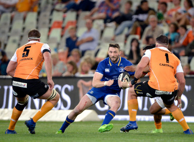 Barry Daly scored a hat-trick but Leinster slipped to defeat.