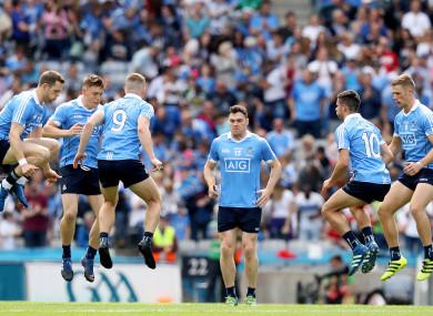 Dublin are bidding for an All-Ireland senior three-in-a-row.