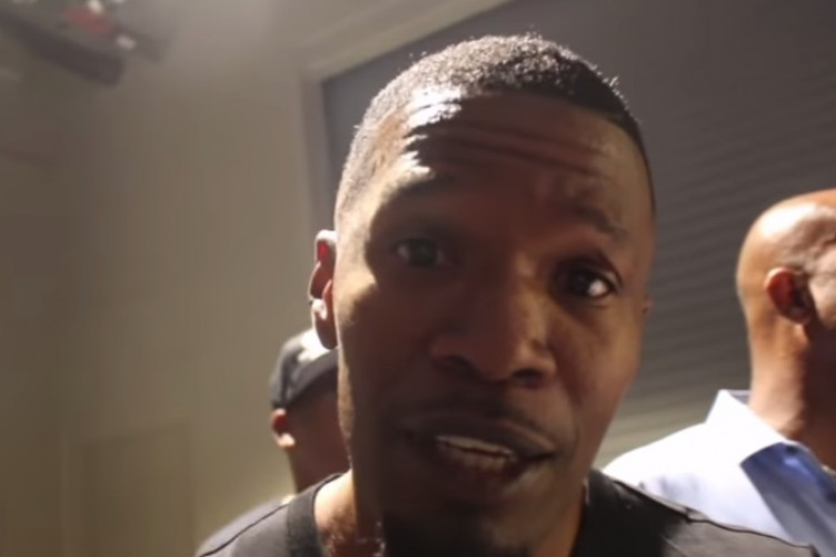 Jamie Foxx attempted a Conor McGregor impression and he really made