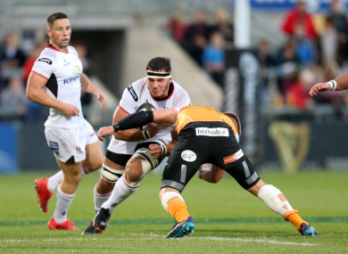 Coetzee has been sidelined since the first night of the season.