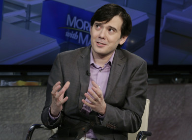 Martin Shkreli, who's known as the
