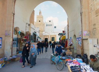 File photo of Sfax, Tunisia