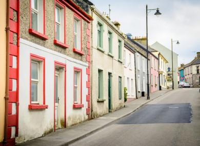 File photo: Rural village, Ireland.