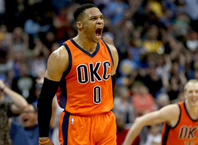 09ae514cb4be63 Russell Westbrook set to rake in  233 million with OKC after signing ...