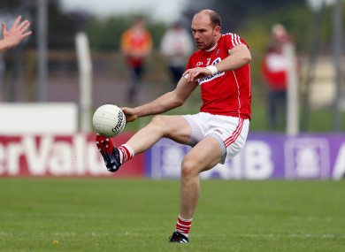 Alan O'Connor has donned the Cork jersey for the last time.