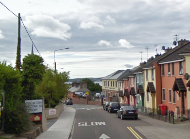 Cobh, in Co Cork where the incident occurred yesterday evening.