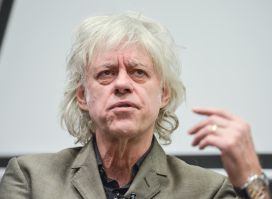 Bob Geldof Sindir Aung San Syu Kyi dengan Ucapan Pedas