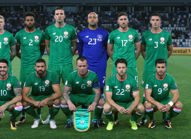 Last month's disappointing results have left Ireland with an uphill task to qualify.