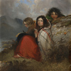Irish Peasant Children - Daniel MacDonald