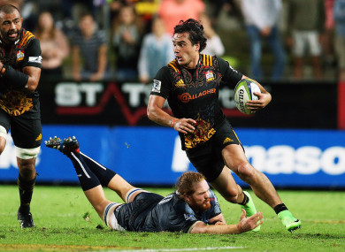 Lowe had a fine season for the Chiefs in Super Rugby.