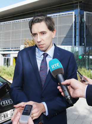 Health Minister Simon Harris.