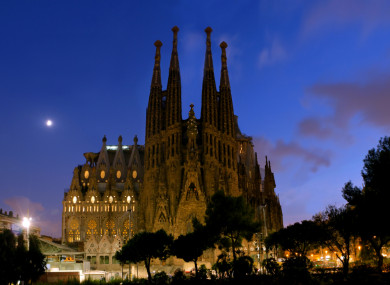 La Sagrada Familia is perhaps Barcelona's most famous landmark.
