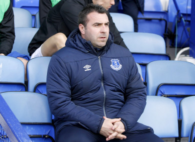 Unsworth has most recently been in charge of Everton's U23s.