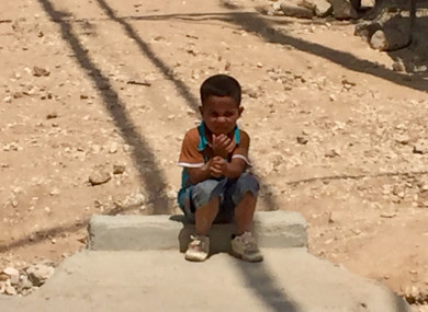 Adnan (4) was born in Zaatari refugee camp, Jordan, and has never been home.