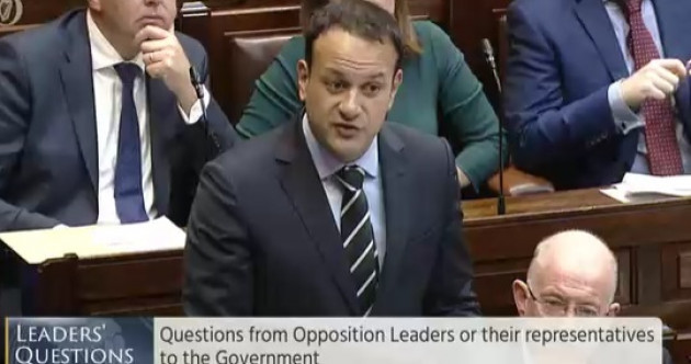 Varadkar says there is 'no value' in holding a referendum on the public ownership of Irish Water