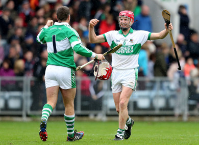 Anthony Nash and Lorcan McLoughlin (file photo) can celebrate a famous win with Kanturk.