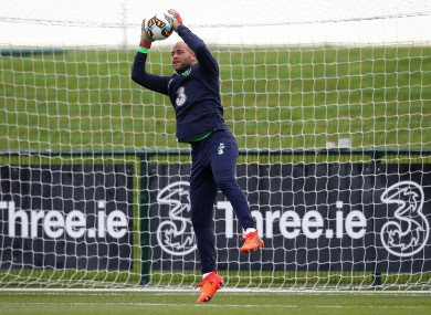 Darren Randolph could be called into action in a shootout tomorrow night.
