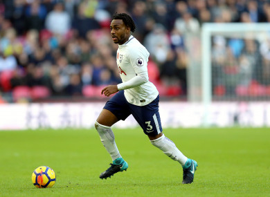 Danny Rose has made three appearances for Tottenham this season.