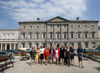 Members of the Oireachtas Women's Caucus Group gathered earlier this week.