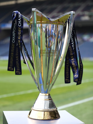 The Champions Cup trophy (file pic).