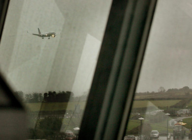 View from Bristol Airport (file)