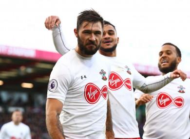 Southampton striker Charlie Austin