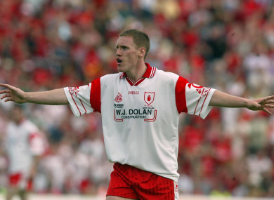 The late Cormac McAnallen helped Tyrone to their first-ever All-Ireland triumph in 2003.