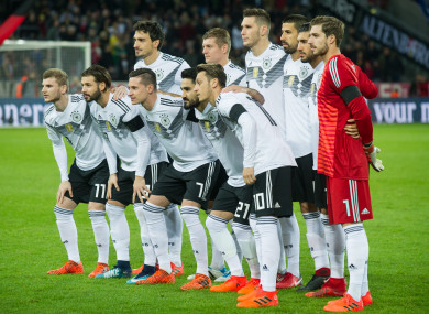 Germany's players stand to make a big profit if they win next year's World Cup.