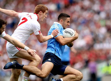 Tyrone faced Dublin in this year's All-Ireland semi-final.