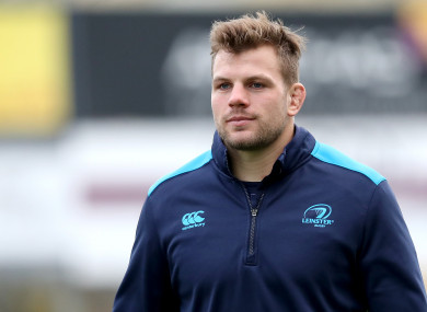 Murphy pictured during Leinster's squad session at Donnybrook yesterday.