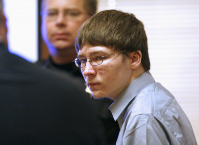 Brendan Dassey at the Manitowoc County Courthouse. (File, April 2007)