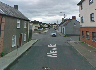 A section of the New Road near Thomondgate in Limerick.