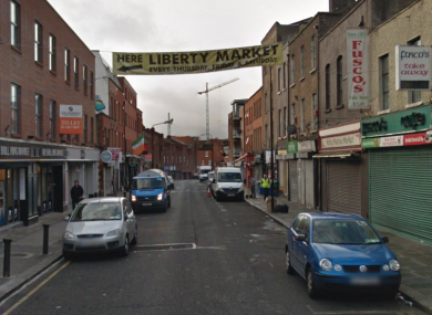 A section of Meath Street.