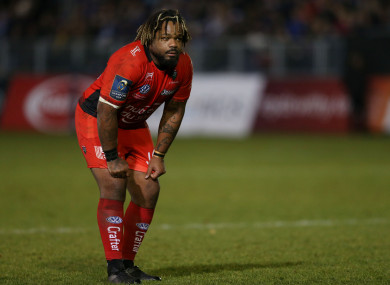 Mathieu Bastareaud will sit out the next three weeks.
