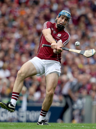 Galway's Conor Cooney was key today for the Tribesmen.