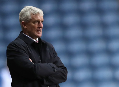Hughes had been in charge for four-and-a-half years.