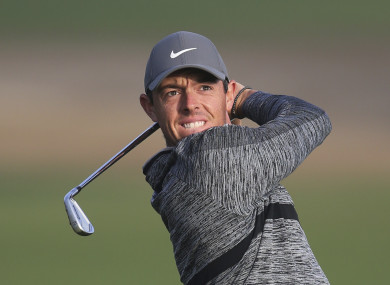 McIlroy: another bogey-free round.