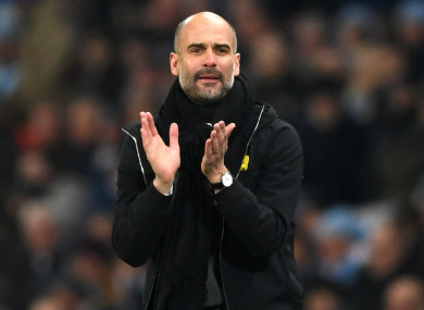 Manchester City went 12 points clear at the top of the table.