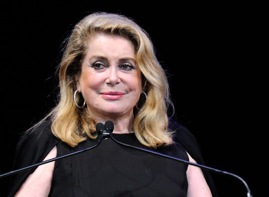 Catherine Deneuve was under fire last week for comments made in the letter.
