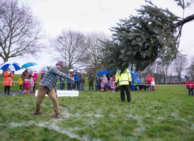 Taken at the Irish Christmas Throwing Championships last year. Not the best way to get rid of your tree.
