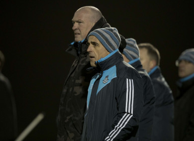 Pat Gilroy and Anthony Cunningham are guiding Dublin's fortunes.
