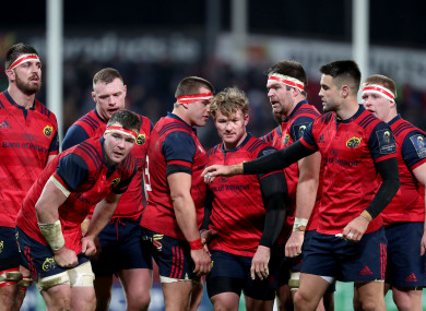 Munster need another big Thomond performance today.