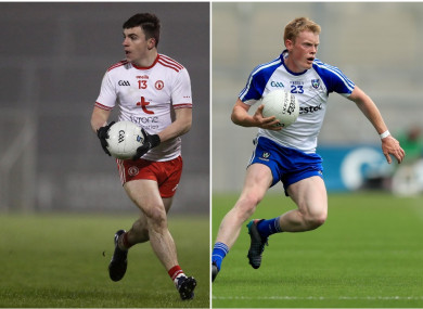 Tyrone's Lee Brennan and Monaghan's Ryan McAnespie hit 0-7 between them today for UUJ.