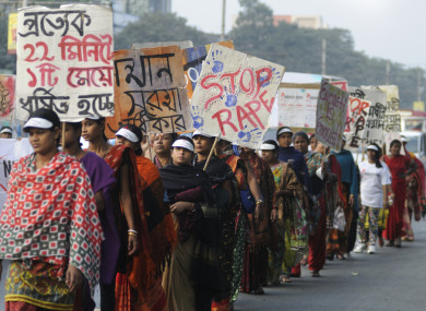 Despite mass protests and law changes against rape, there are still high records of assault in the country.