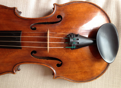 The 300-year-old viola