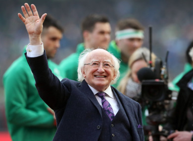 Michael D Higgins has not yet said if he will seek a second term.