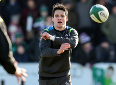 Carbery remained with Ireland this week.