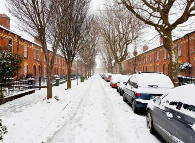 Phibsboro in Dublin this morning